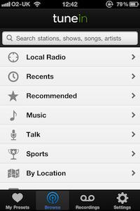 tune-in radio